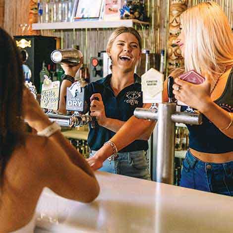 Bar Staff at Gilligan's Cairns
