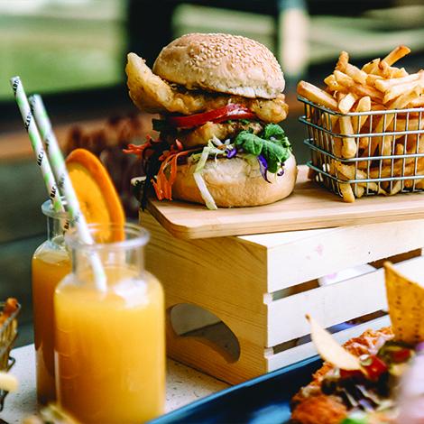 Food at Gilligan's Cairns