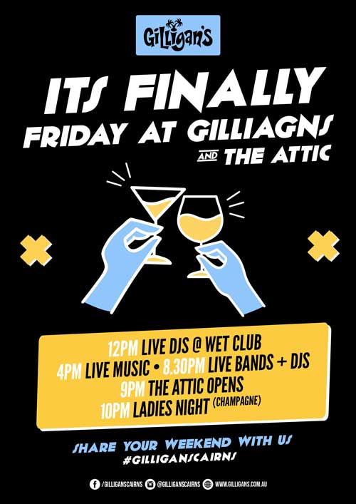 Gilligans-Friday