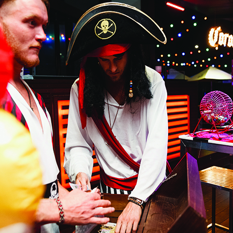 Pirate Bingo at Gilligan's Cairns